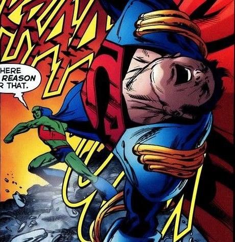 Strong enough to rebuff Superboy-Prime