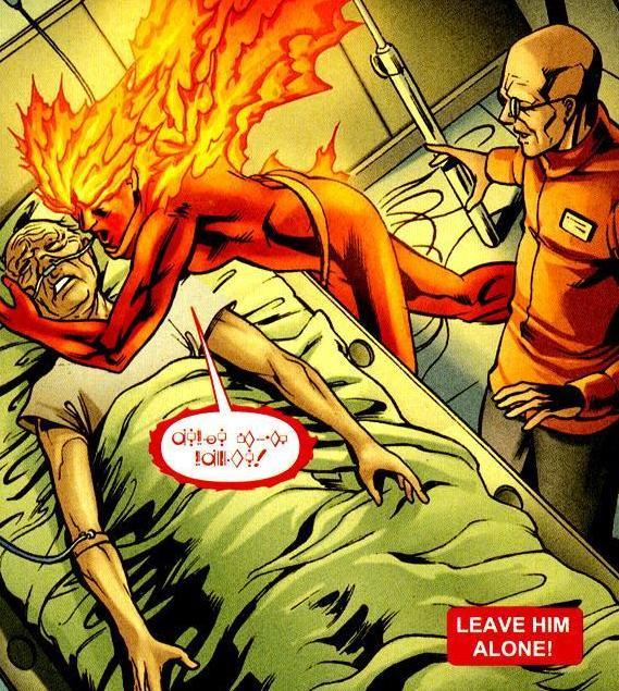 Jax-Ur blackmailing Flamebird