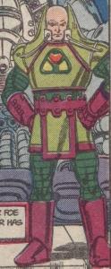 Lex's original suit