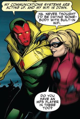 Vision & Stature haven't done much of anything even in Mighty Avengers and need another shot. I want to see some difference between this Vision and the last and I really haven't yet