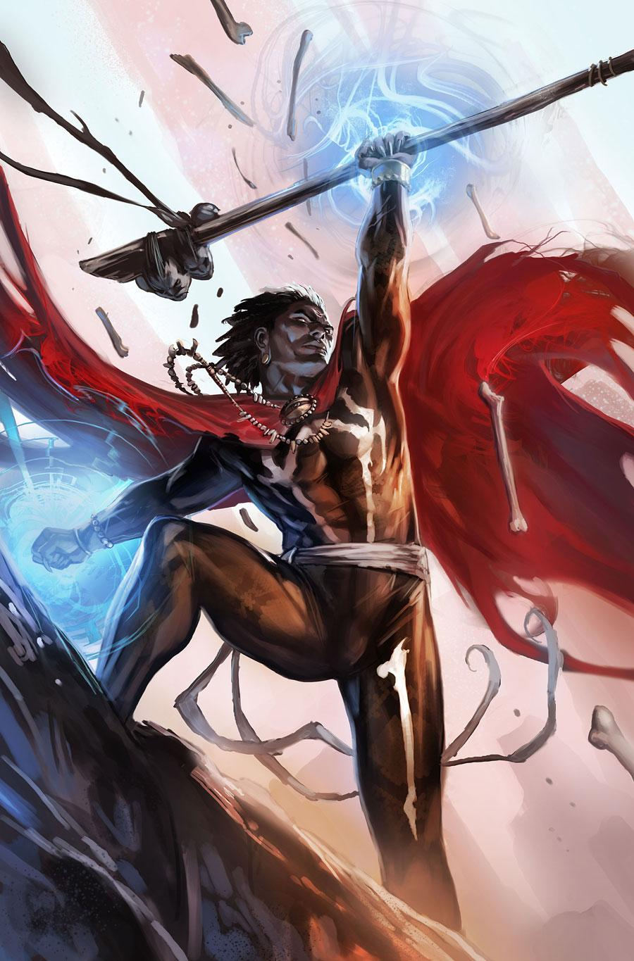 Doctor Voodoo is the current Sorcerer Supreme and it never made since how the Sorcerer Supreme was never on an Avengers team for so many years and then Strange was put on for such a short time lets try that again with the New Sorcerer Supreme and make him worth the title