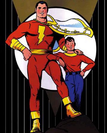The Classic versions of Captain Marvel and Billy Batson