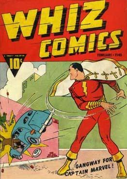 The First Appearance of Captain Marvel: Whiz Comics #2