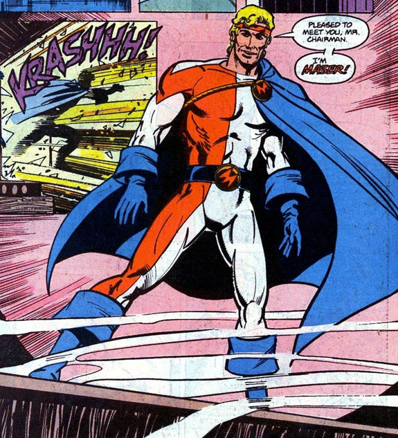 Hal Jordan as Maser