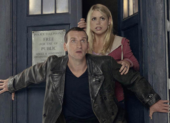 The Ninth Doctor and Rose
