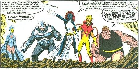 Mystique's Brotherhood