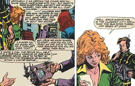 Multiple Man & Siryn With A Portable Cerebro
