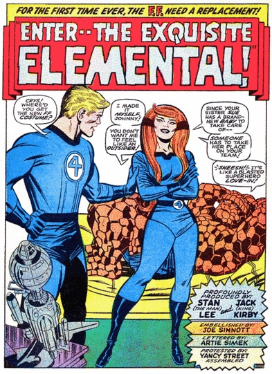 Crystal joins the Fantastic Four