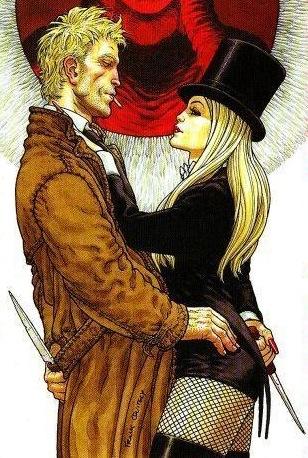 Zatanna and John
