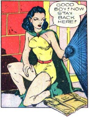 Phantom Lady in Quality Comics (1941-43)