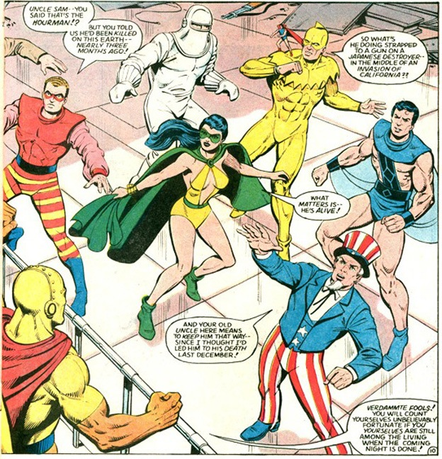 Phantom Lady and the Freedom Fighters