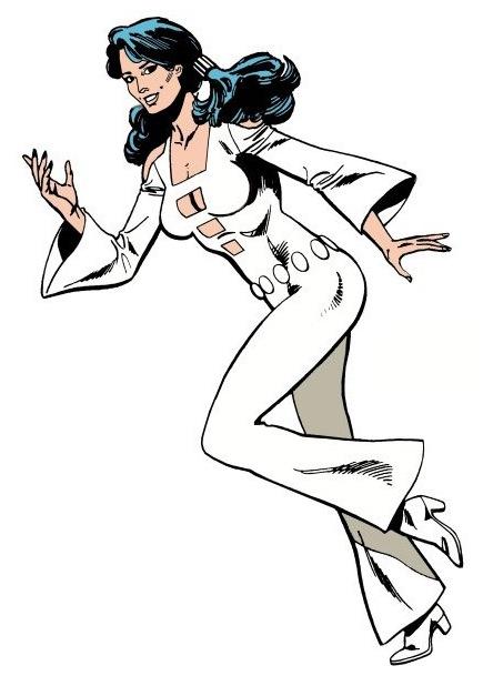 Phantom Girl: Classic 70's costume