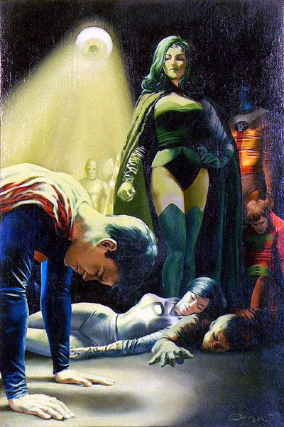 Defeating Superboy with the Eye