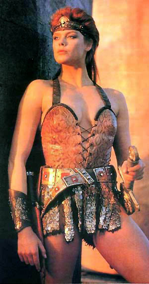 Brigitte Nielsen as Red Sonja (1985 film)