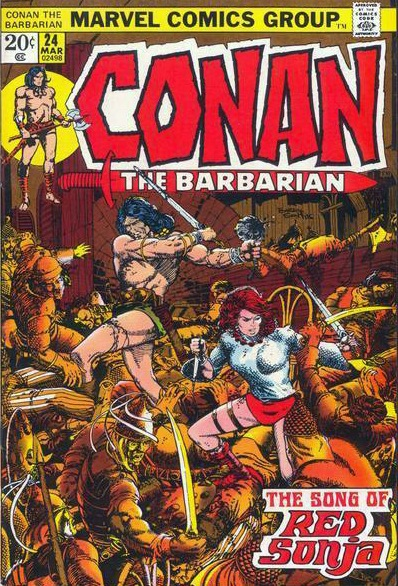 Red Sonja's first feature story