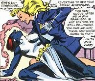 Carol defeats her hated enemy, Mystique