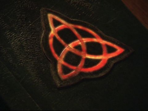 The symbol for the power of three