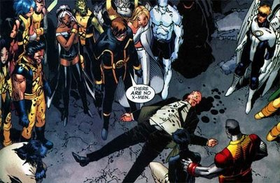 Bishop shot Xavier!!