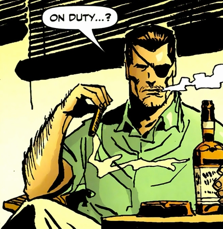Nick Fury - MAX style
