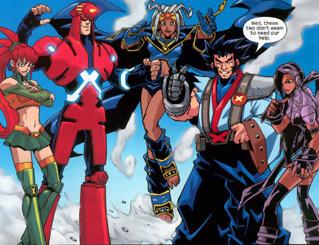 Mangaverse X-Men