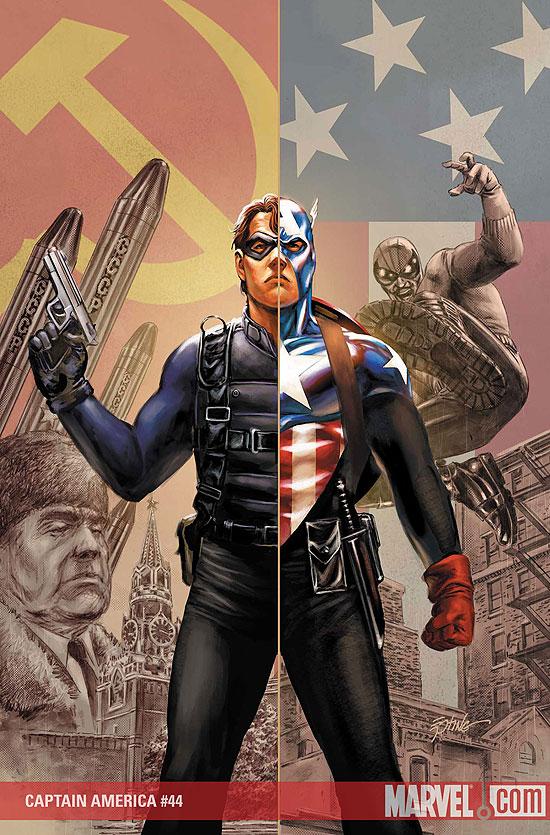 Bucky as Captain America