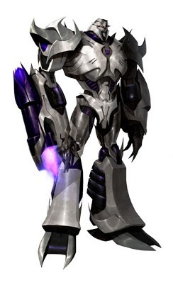 Megatron as he appears in Transformers: Prime