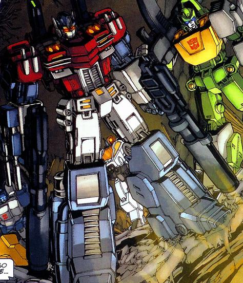 Optimus during Stormbringer.