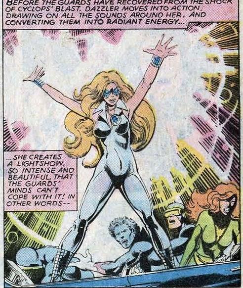 Dazzler meets the X-Men