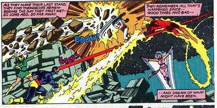Evading the optic blast of Cyclops