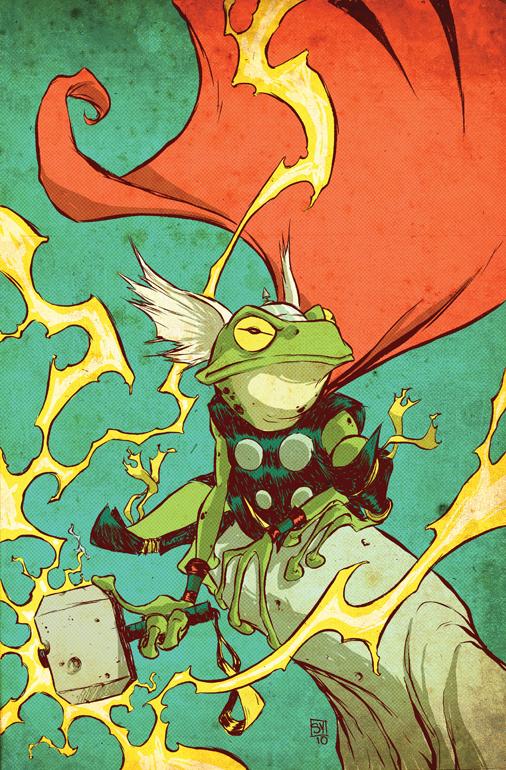 Throg - Frog of Thunder
