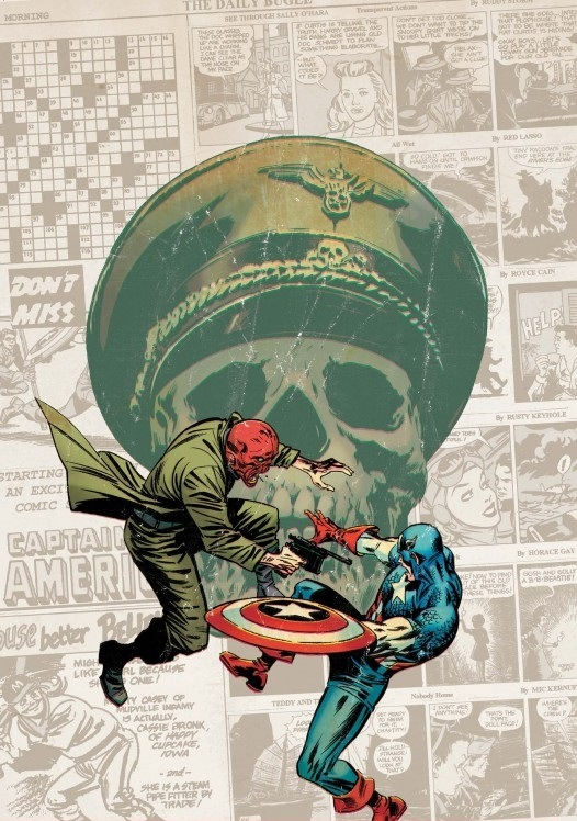 Even though Red Skull fought other heroes throughout World War II, none could ever reach the hatred that he has for Captain America.