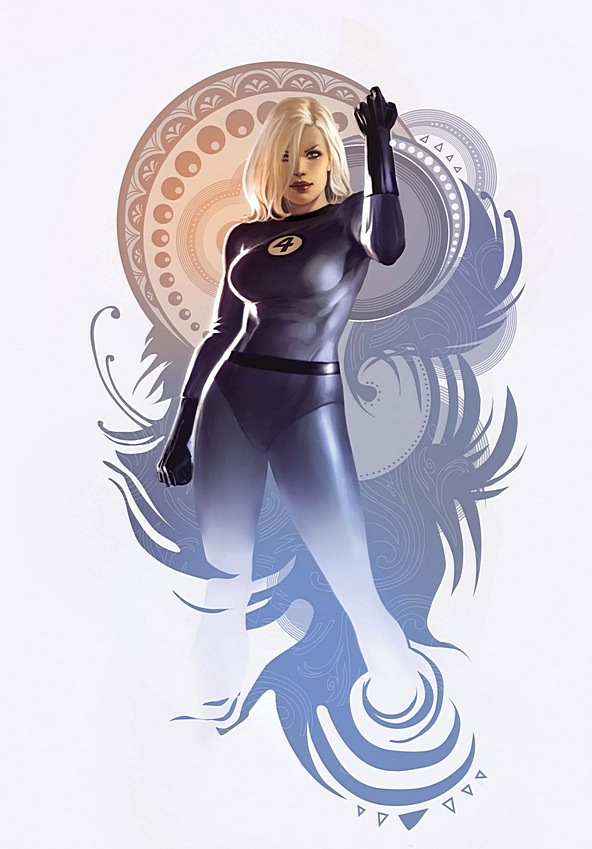 Invisible Woman!