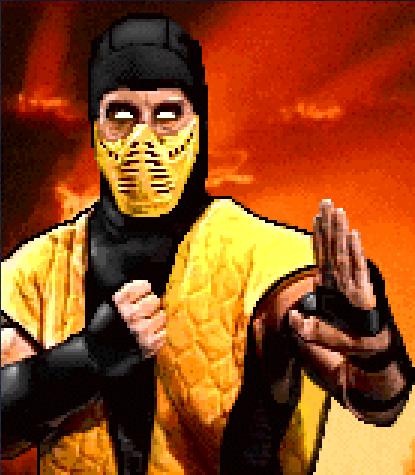 Scorpion the Ninja Spectre