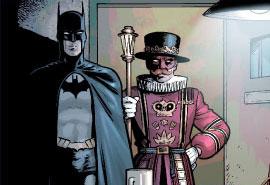 Grant Morrison's version of Beefeater w/Batman