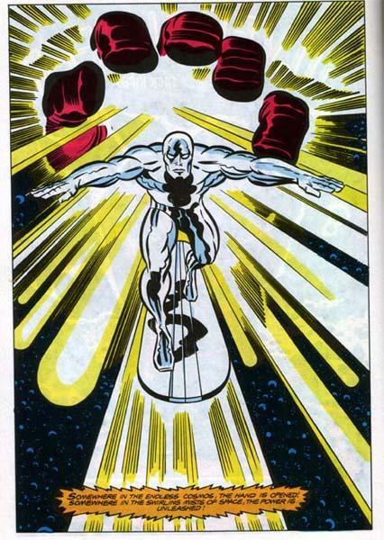 Powers granted by Galactus.