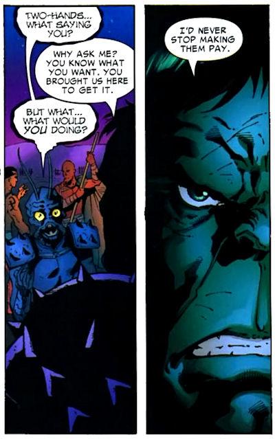 Miek learns from Hulk