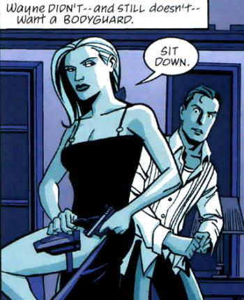 Sasha Bordeaux (Batman's Bodyguard)