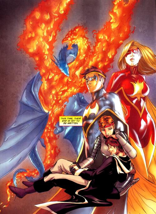 The Avatar of Nightbird & Flamebird