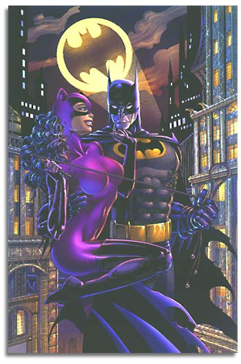 The Bat and The Cat- Jim Balent Style