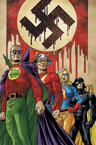 JSA Takes a Stand against The Fourth Reich