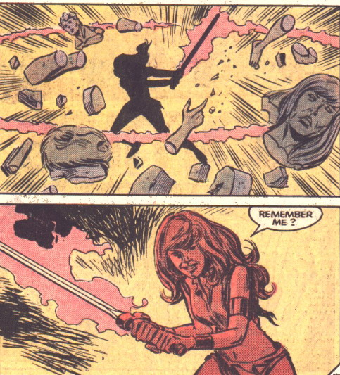 Illyana as Magik