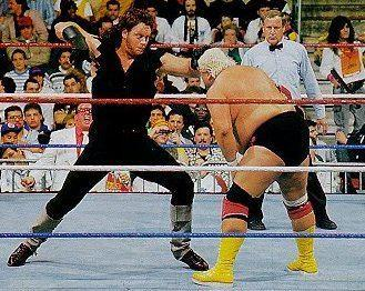 The Deadman in action against the late Dusty Rhodes