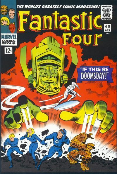 First Cover Appearance - Fantastic Four #49