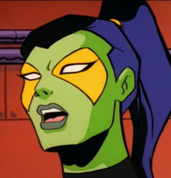 Animated Gamora