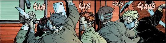 A magnet: Wolverine's kryptonite.