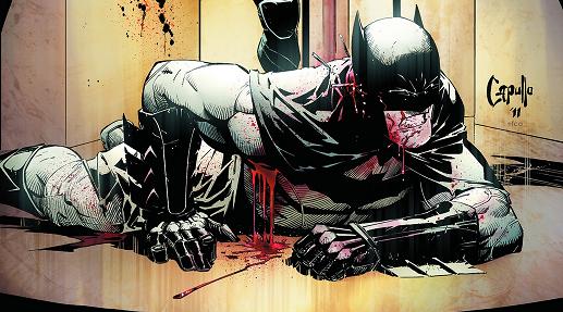 RIP Batman. Dick Grayson, get back in the cowl!