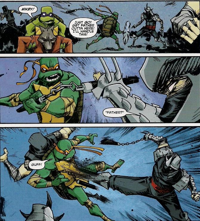 Shredder's a thief!