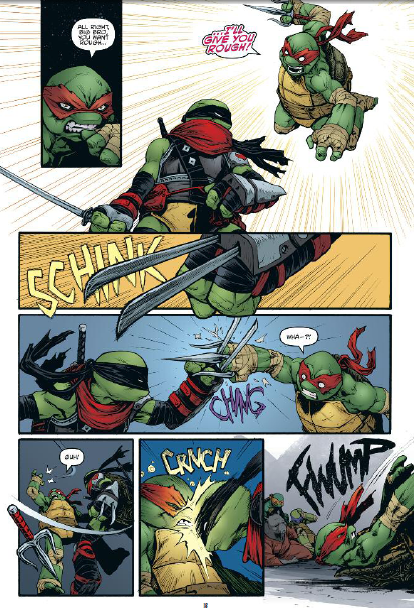 Brace yourself! Outraged Raphael fans are coming.