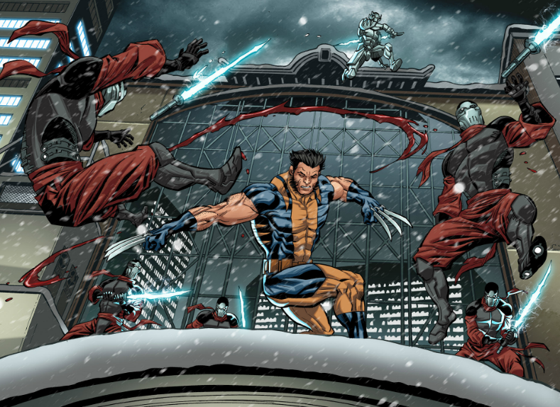Can we PLEASE get a movie that's just Wolverine taking on ninjas? Please?