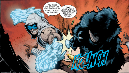 Tell me again why Captain Cold isn't playable in Injustice: Gods Among Us... ?